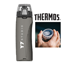 Thermos® Hydration Bottle with Rotating Intake Meter