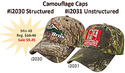 Camouflage Cap - Unstructured