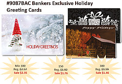 Holiday Greeting Cards - Exclusive product from Bankers