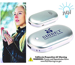 Combo Hand Warmer and Power Bank
